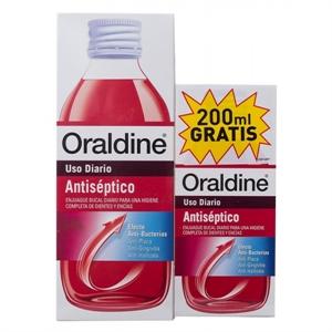 Oraldine Antiseptico 400ml + 200 ml GRATIS