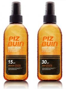 Piz Buin wet skin solar