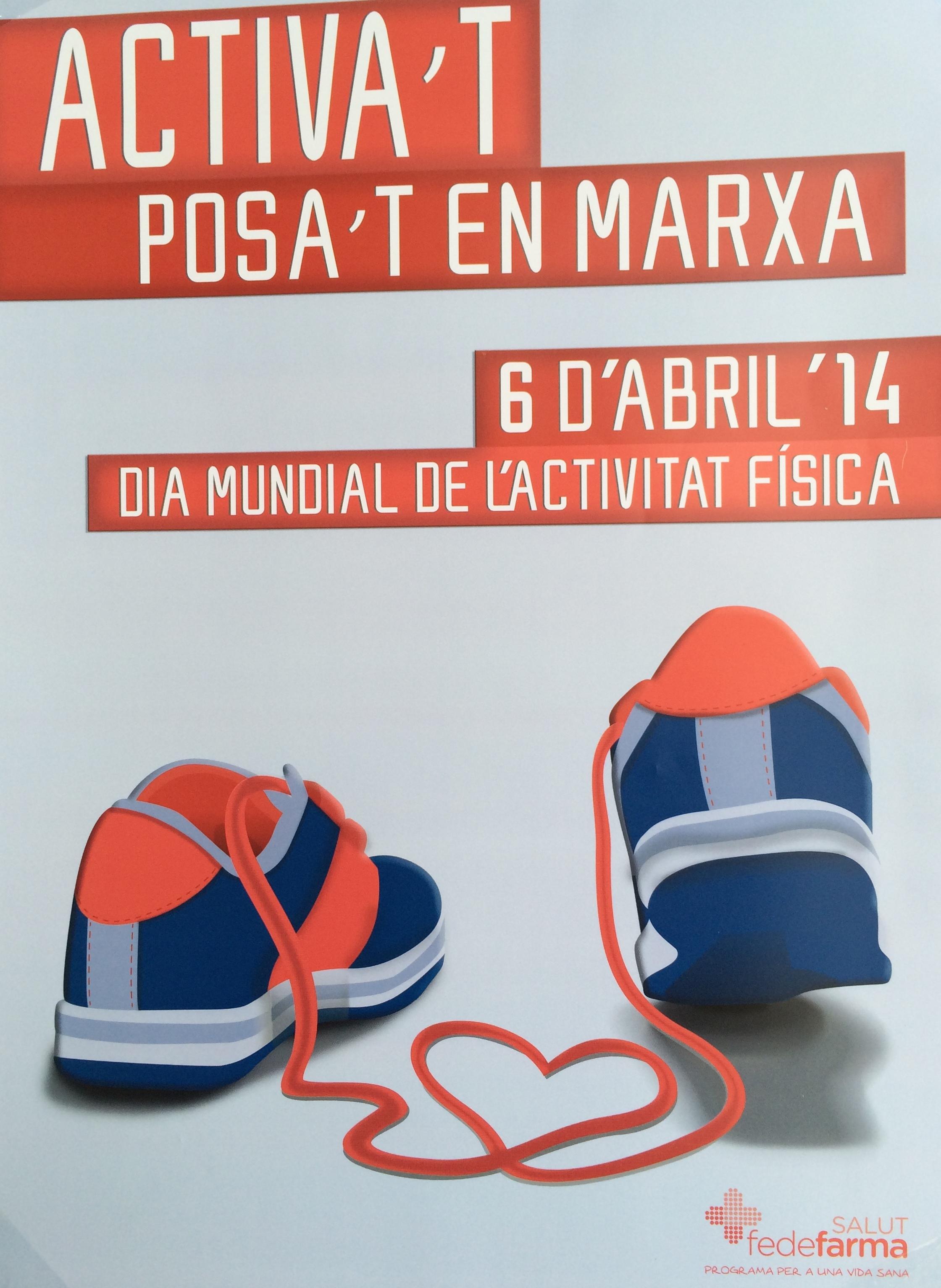 Día Mundial de la Actividad Física 6 de Abril de 2014