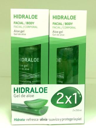 Oferta 2x1: Hidraloe Gel de Aloe Vera facial y corporal