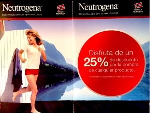 Cupon promocion Neutrogena