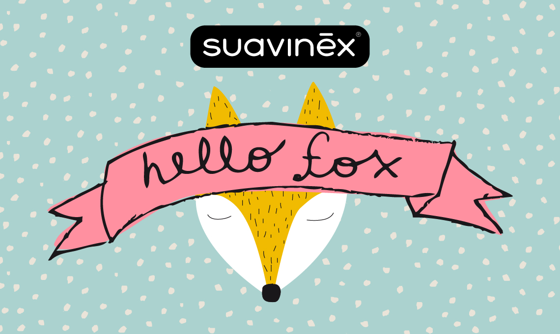 Hello Fox: la Colección más divertida de Suavinex