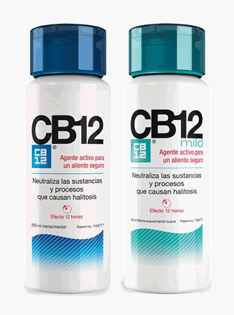 CB12: enjuague para eliminar el mal aliento