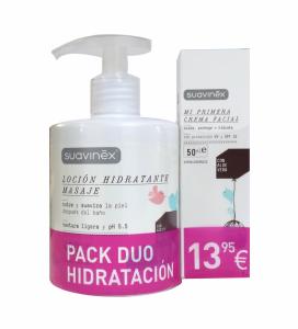Suavinex pack duo hidratacion corporal